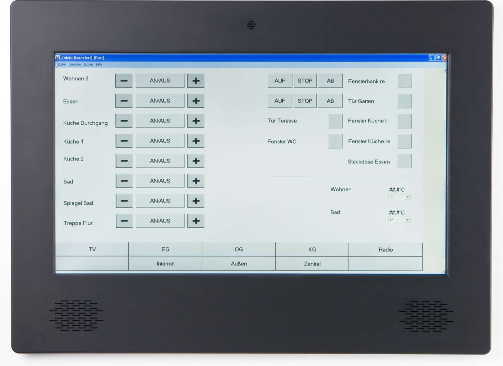 Touchpanel Edition1 TD215